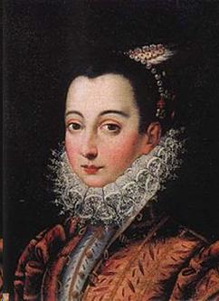Vittoria Accoramboni kom från en nobel familj. Känd för sin skönhet blev hon sexton år gammal 1573 gift med en systerson till Francesco Peretti, den blivande påven Sisto V (1585-1590).